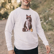 Cat Tennis Sweatshirt