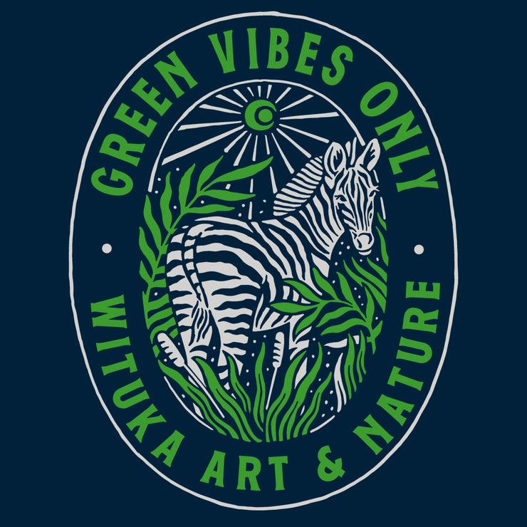 Green Vibes Only - Doble Impresión