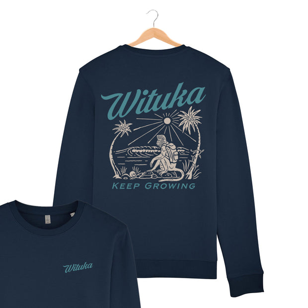 Keep Growing - Double Printing Sweatshirt