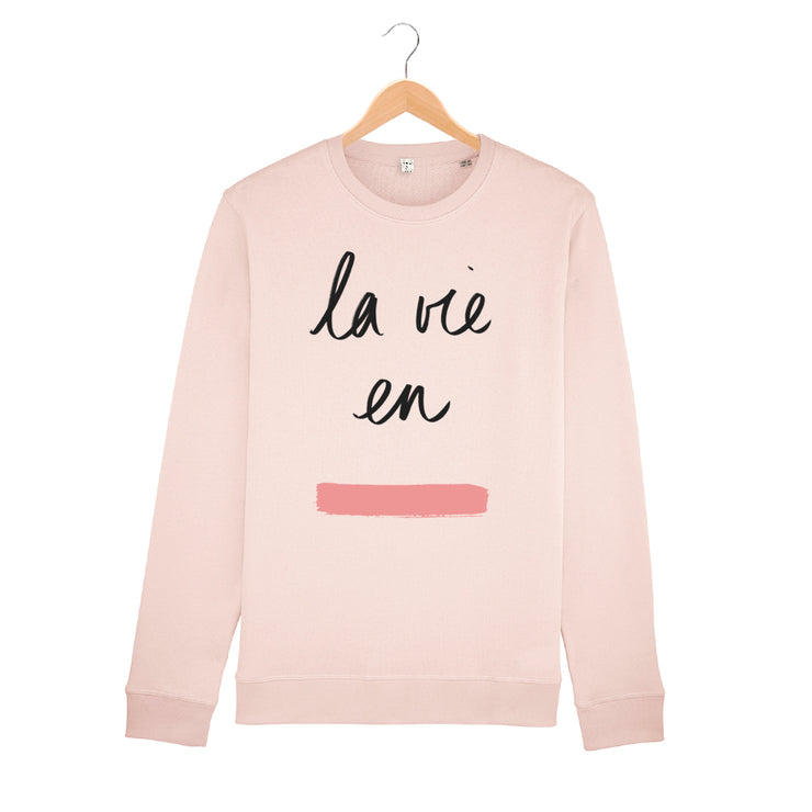 La Vie en Rose Sweatshirt