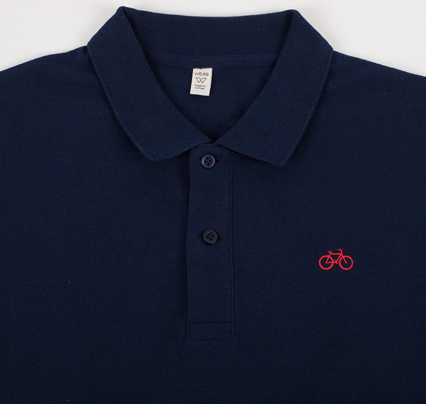 Polo Bike Navy KIDS - Wituka