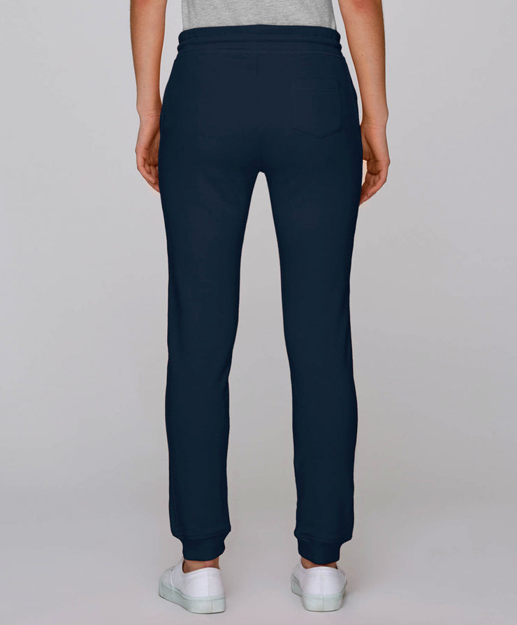 Fitted Trousers French Navy Women