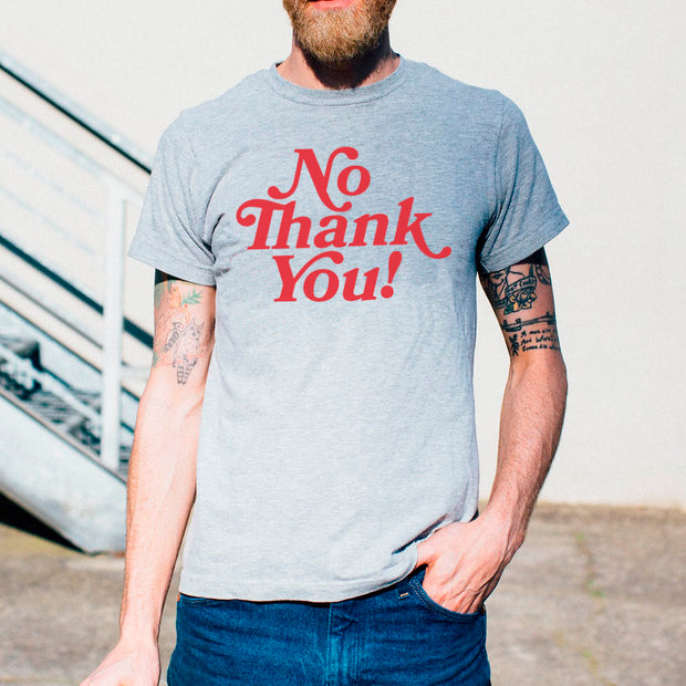 camiseta algodón orgánico - No Thank You