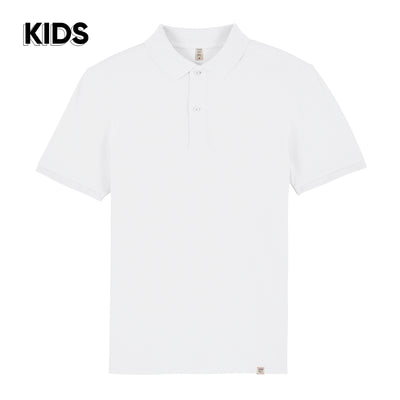 White Polo Shirt KIDS - Wituka