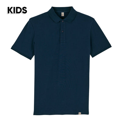 Navy Polo Shirt KIDS - Wituka