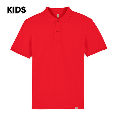 Red Polo Shirt KIDS - Wituka