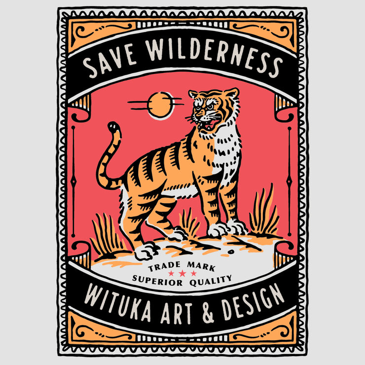 Save Wilderness - Double Printing