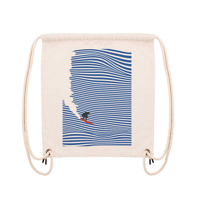 Surfing Jaws - Gym Bag