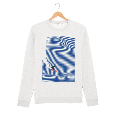 Surfing Jaws Sweatshirt