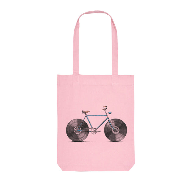 Velophone - Tote Bag Cotton Pink