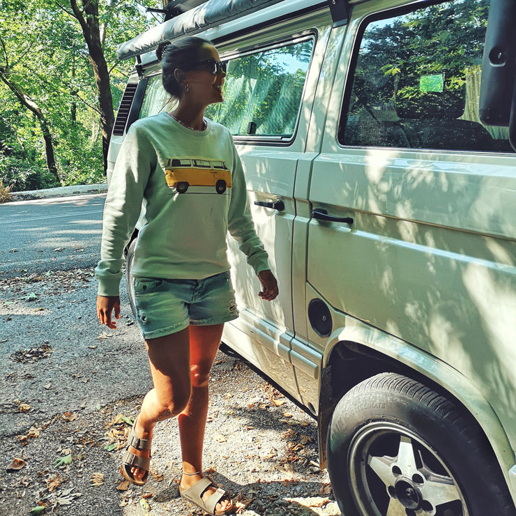Yellow Van Sweatshirt - Wituka