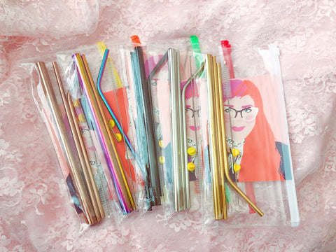 Reusable Straw Starter Kits