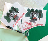 Effervescent Holidays Cards and Postcards