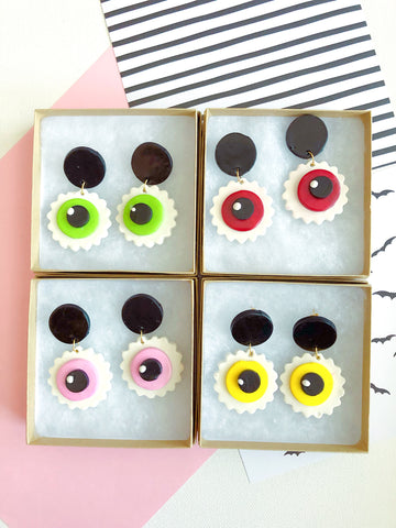 Handmade Eyeball Earrings