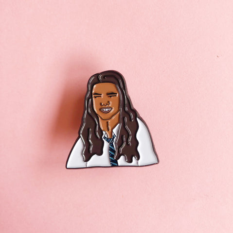 Jacob Black Enamel Pin