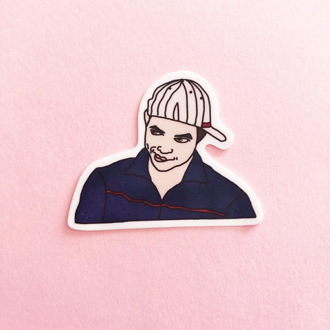 Baseball Emmett Vinyl Sticker
