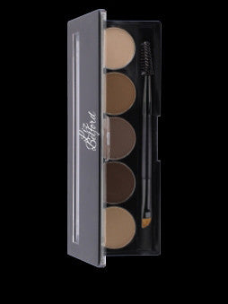 5 well Brow Pallet - Liz Belford Cosmetics