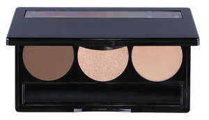 3 well Brow Pallet - Liz Belford Cosmetics