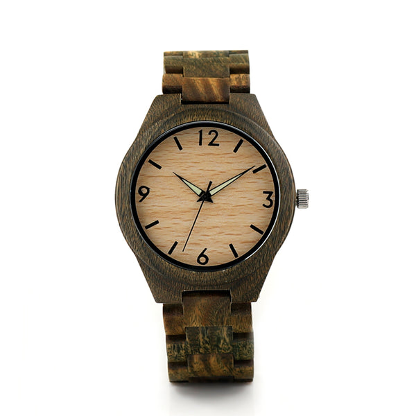 2018 BOBO BIRD Brand Watches Men Wood Wristwatch with Wooden Band Japan Move' Quartz Watch relogio masculino C-I18