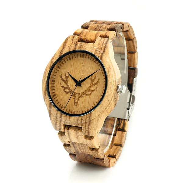 2018 BOBO BIRD Brand All Wooden Watch Men Casual Luxury Wood Strap Wristwatches Gifts Watch reloj masculino C-K29