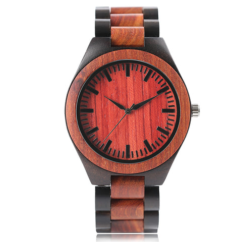 Fashion Handmade Creative Bangle Hot Bamboo Wrist Watches Analog Women Hours Simple Men Nature Wood Quartz Modern Relogio Gift