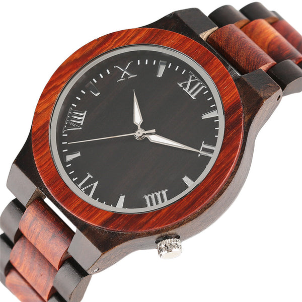 Modern Full Wooden Wristwatch Men Sport Nature Wood Bamboo Creative Watches Casual Unique Design Bangle Handmade Clock Gifts