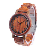 BOBO BIRD Wooden Watches Men Timepieces Wood Strap Japan Movement 2035 Quartz Wristwatch relogio masculino C-M17