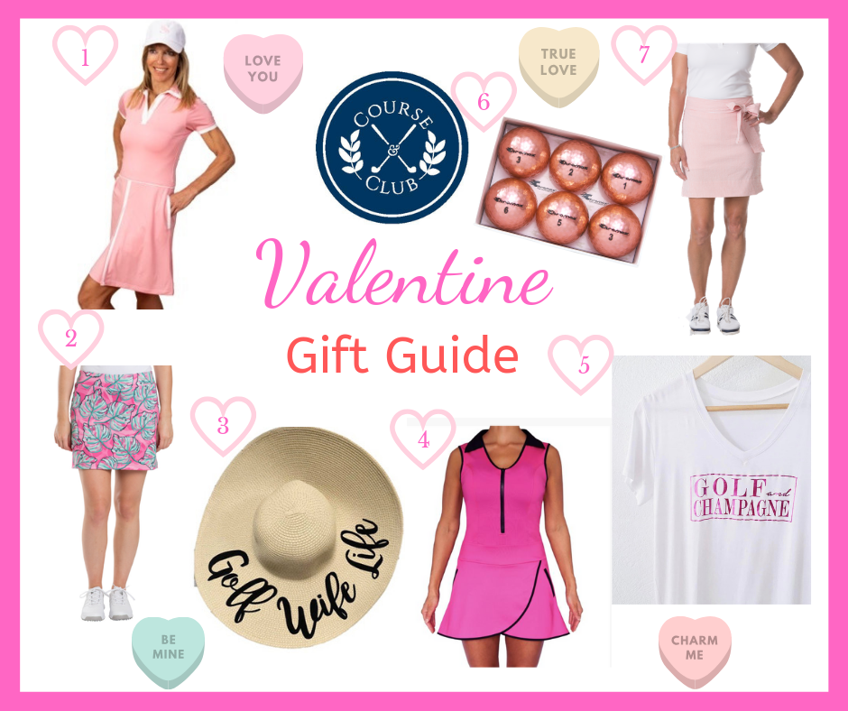 Valentine's Gift Guide for the Lady Golfer in Your Life