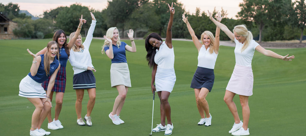 Course & Club Golf outfit Ladies golf skorts
