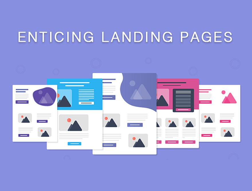 2 Landing Pages