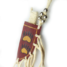 Lakota Crafters Red Knife Sheath Necklace by Juan Espinosa