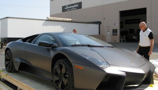 Unboxing The Lamborghini Reventon