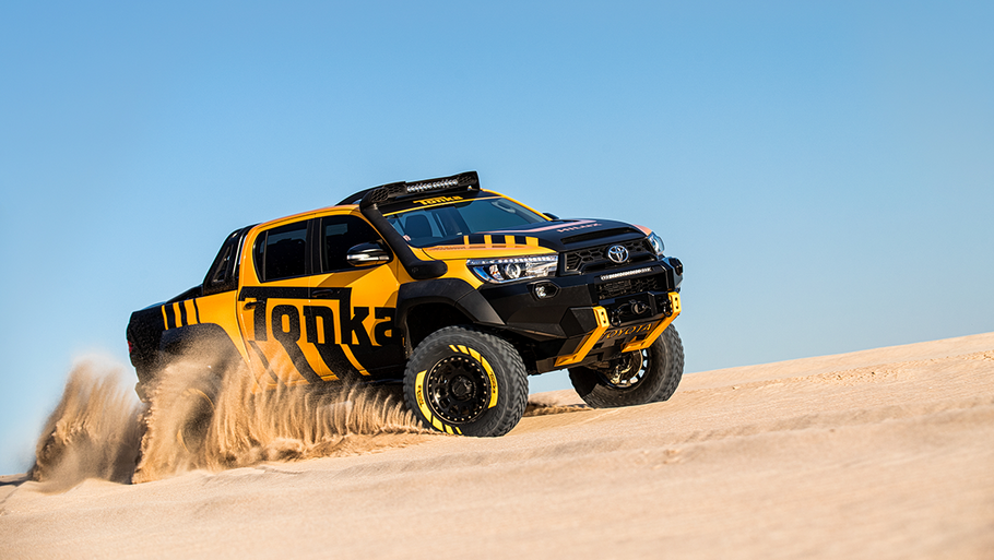 The Tonka Toyota Hilux Concept Vehicle