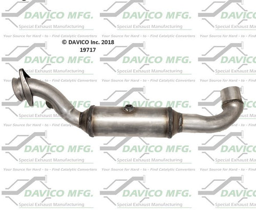 Left Driver Side Catalytic Converter 2015-17 Ford Expedition – Lincoln Navigator 6 Cyl. 3.5L
