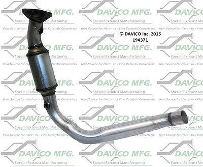 Davico 194371 Catalytic Converter Left