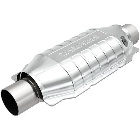 Universal Catalytic Converter OBDII Standard Oval With Single O2 Sensor