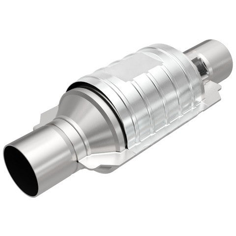 Universal Catalytic Converter With Single Sensor Port -OBDII Small Round