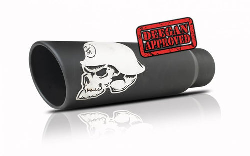 Gibson Performance Exhaust 61-1036 Metal Mulisha Stainless Steel Exhaust Tip