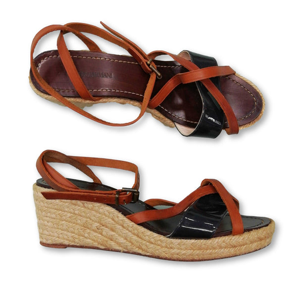 Giorgio Armani Women's  Wedges Size EU 40 (UK 7)    Colour:  Tan