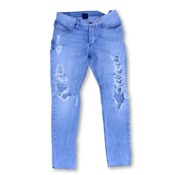Road To Awe Men's  Jeans  W31 L30 Colour:Blue