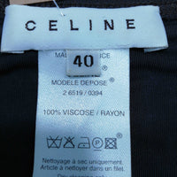Celine Women's  Mini Dress Size EU 40 UK 12  Colour:  Brown