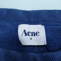 Acne Men's Jumper M Colour:  Blue