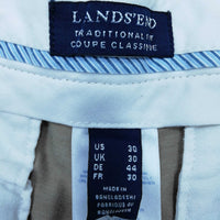 Lands End Men's  Trousers  W 30 in Colour:  Tan