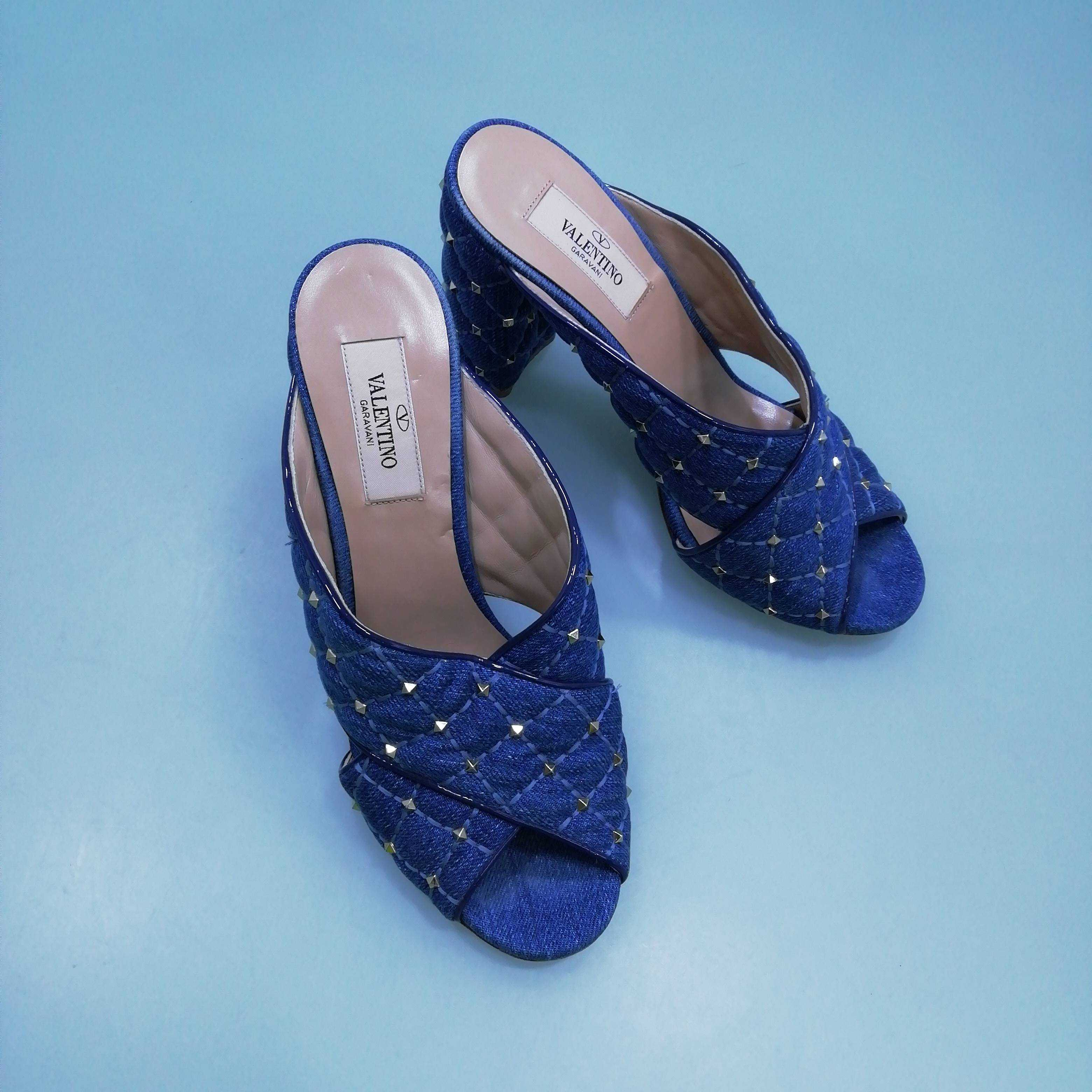 Valentino Women's Wedges 4 UK 4 Colour:  Blue