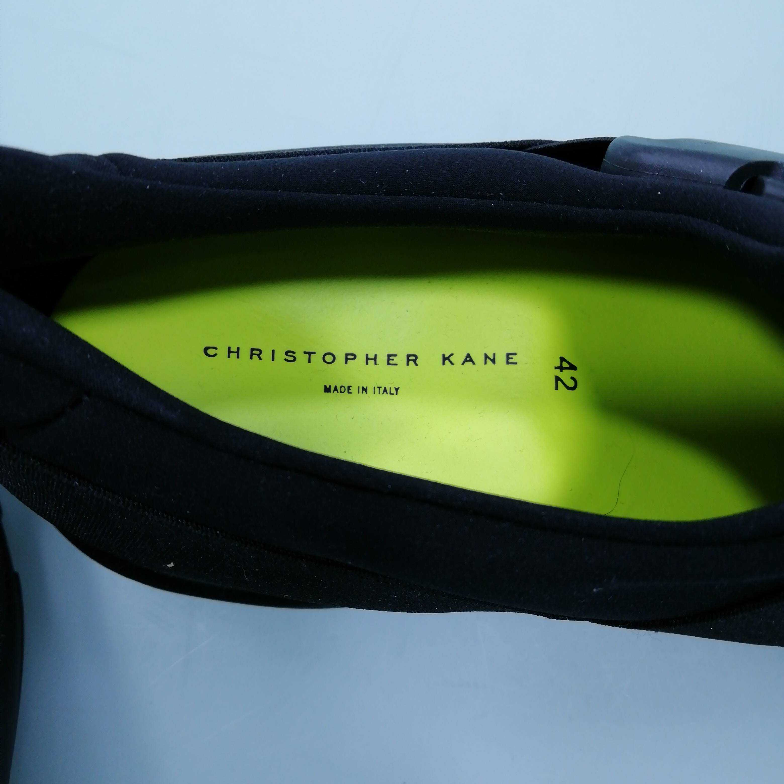 Christopher Kane Men's  Trainers Size EU 42 UK 8    Colour:Black  *
