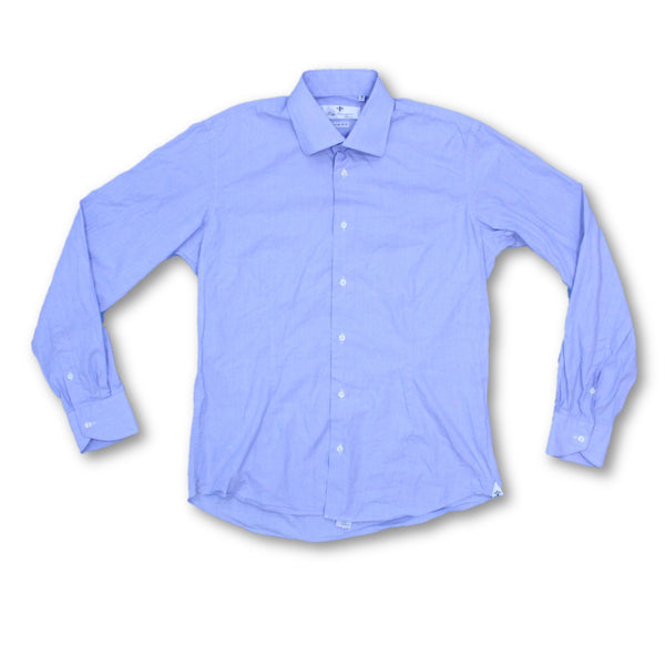 Rosso Fiorentino Men's Long Sleeve Shirt L Collar: 16.5