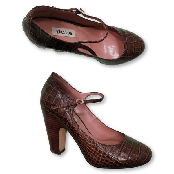 Dune Women's  Heels Size EU 37 (UK 4)    Colour:Brown