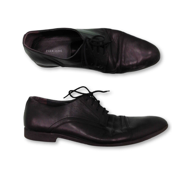Pier One Men's  Formal Shoes Size EU 45 (UK 11)    Colour:Black