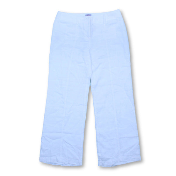 Per Una Women's  Trousers Size UK14    Colour:White