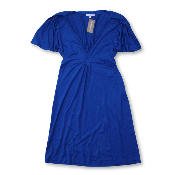 Vanessa Bruno Women's  Mini Dress Size US 1 (UK 4)    Colour:  Blue